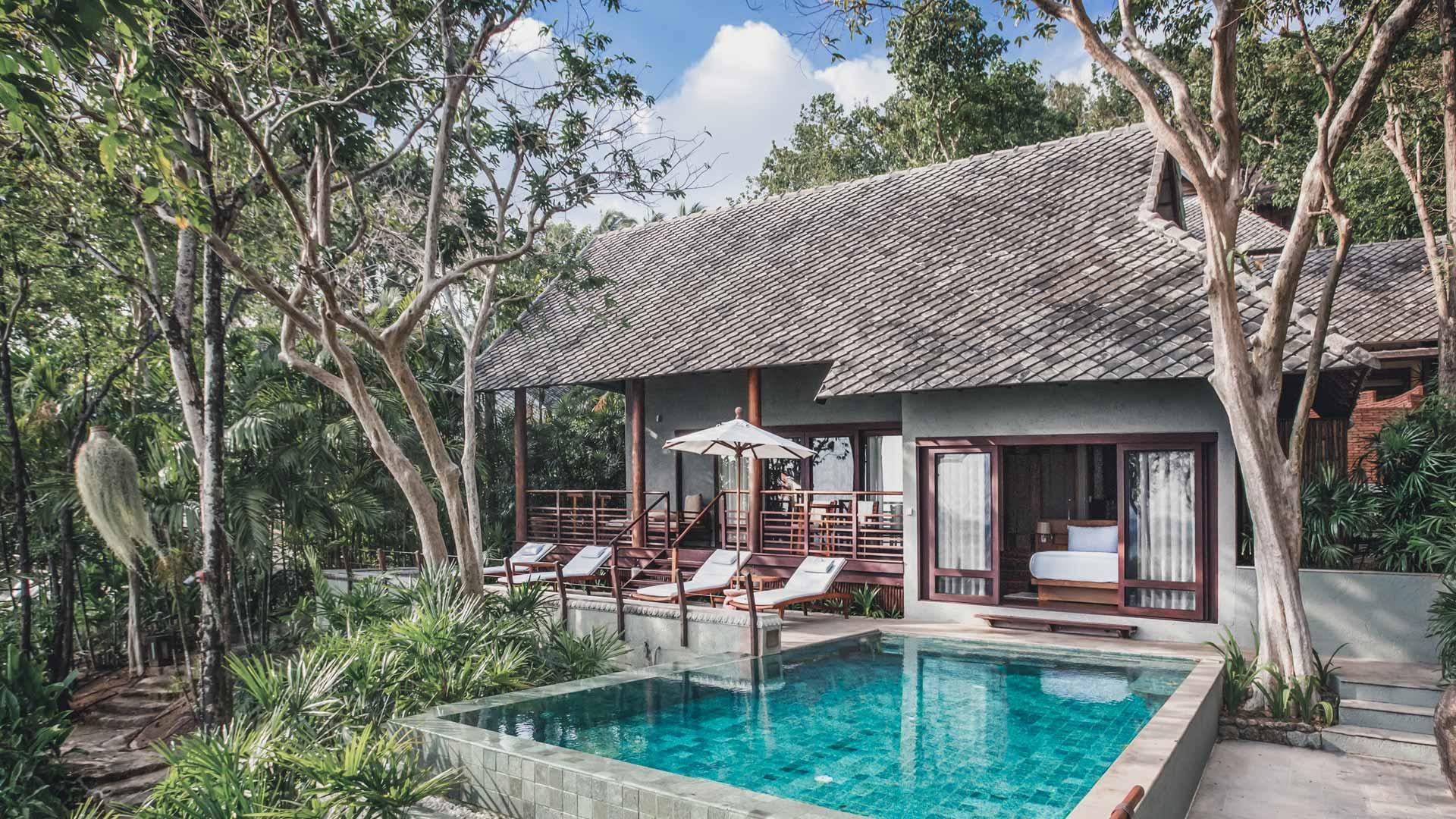 Beachfront Pool Villa Koh Samui Thailand