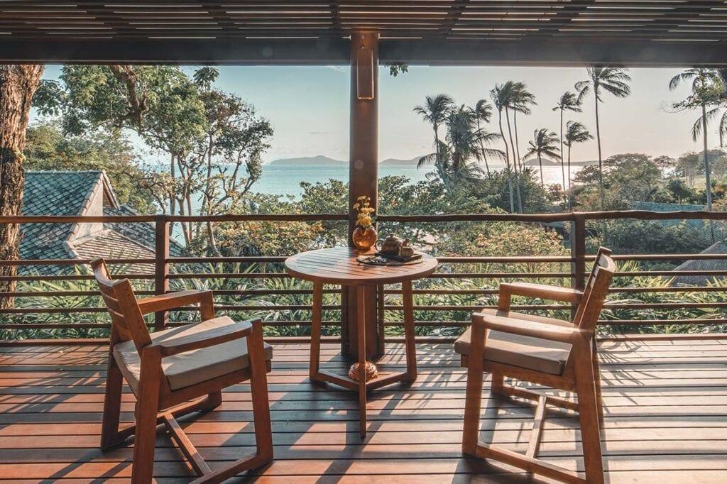 Private Sea View Villa with Terrace in Koh Samui Thailand