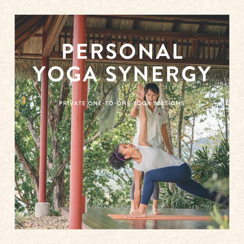 Personal Yoga wellness program in Thailand