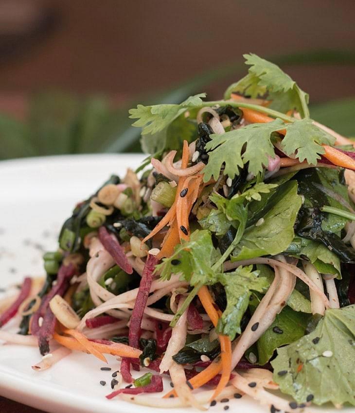Vegan Gotu Kola Salad
