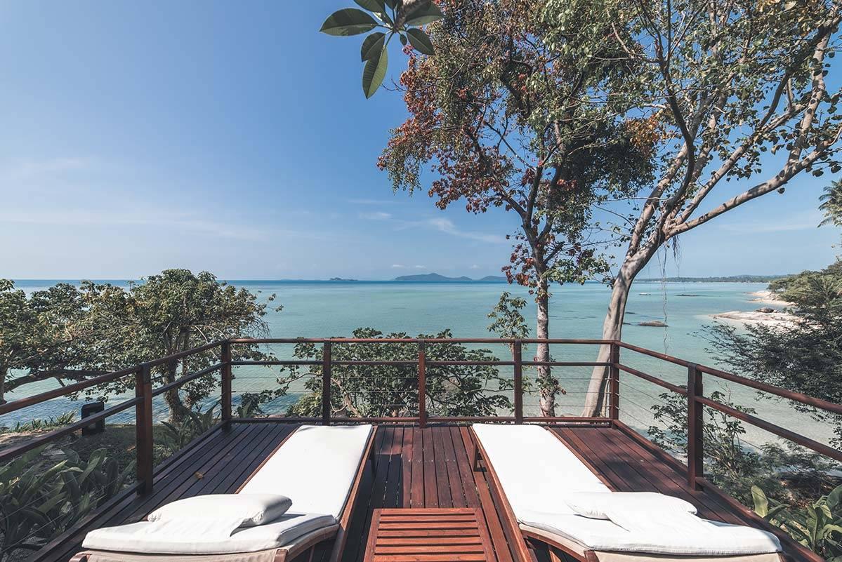 Beachfront Villa with a Private Deck Thailand