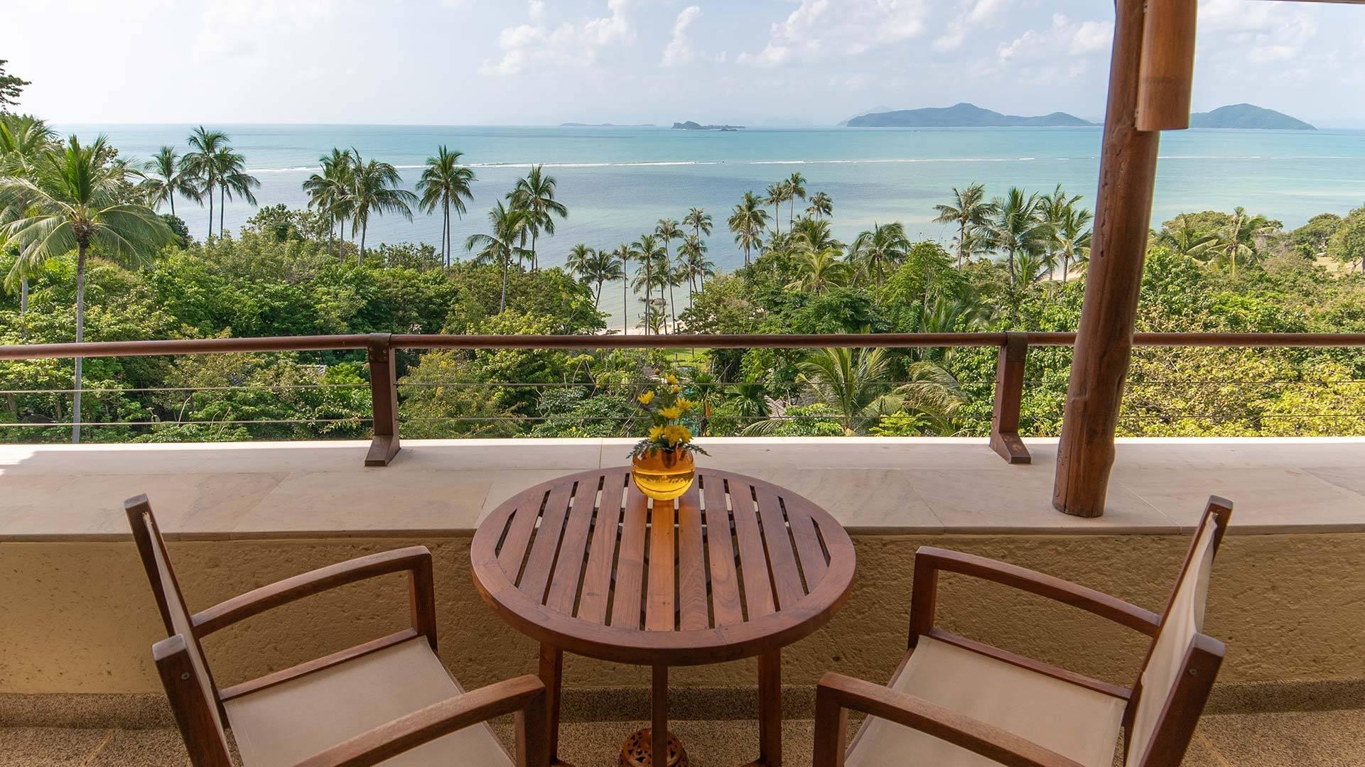 Deluxe Suite Sea View Koh Samui Thailand