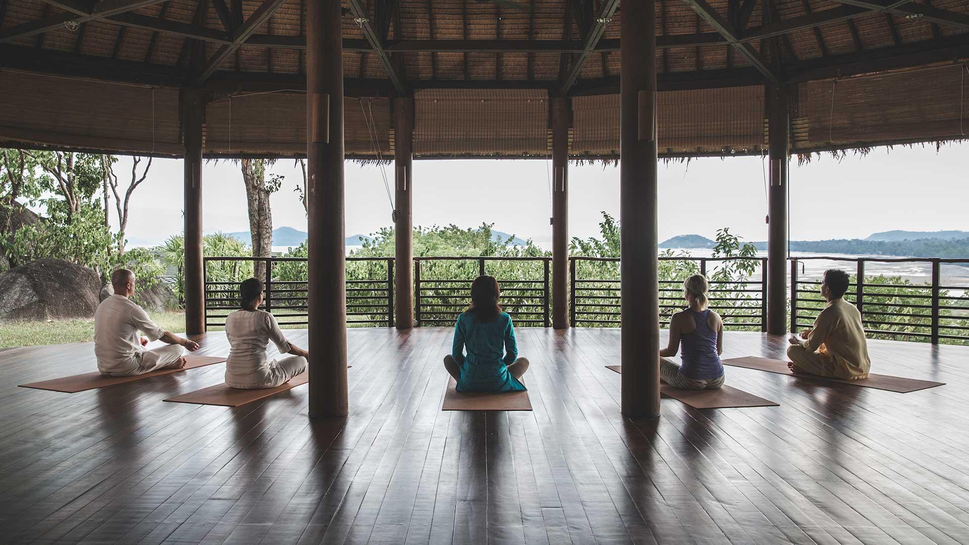 Meditation Retreat at Kamalaya Koh Samui