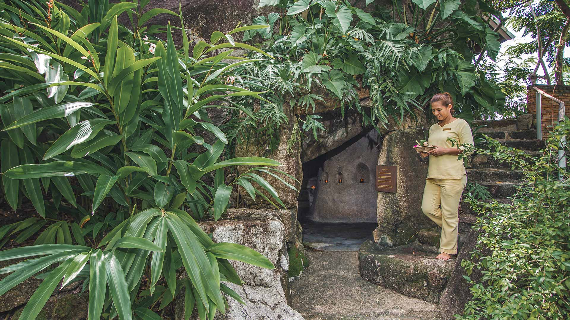 Monk Cave at Kamalaya Koh Samui