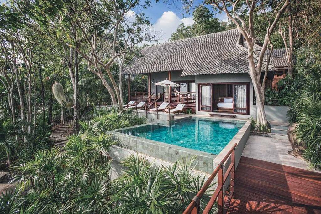 Private Beachfront Villa in Koh Samui Thailand