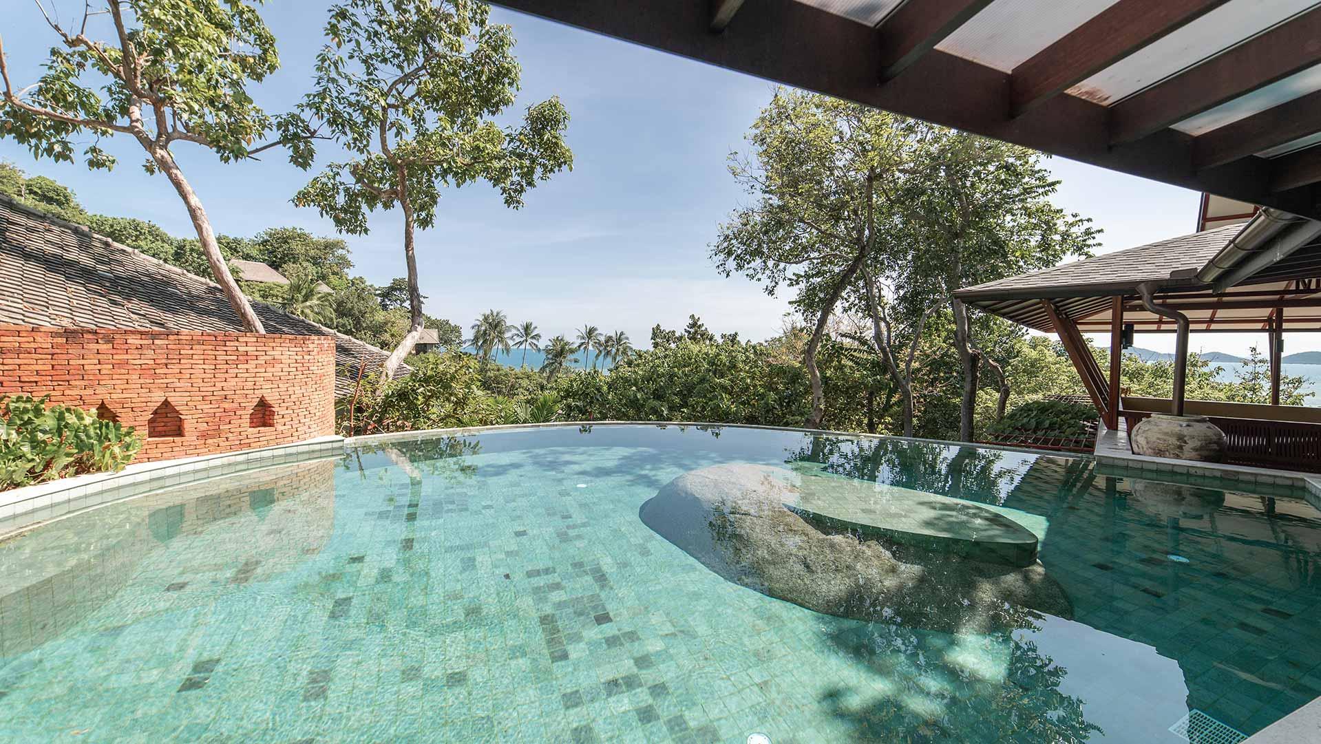 Spacious & Private Pool Villa with Yoga Sala Thailand