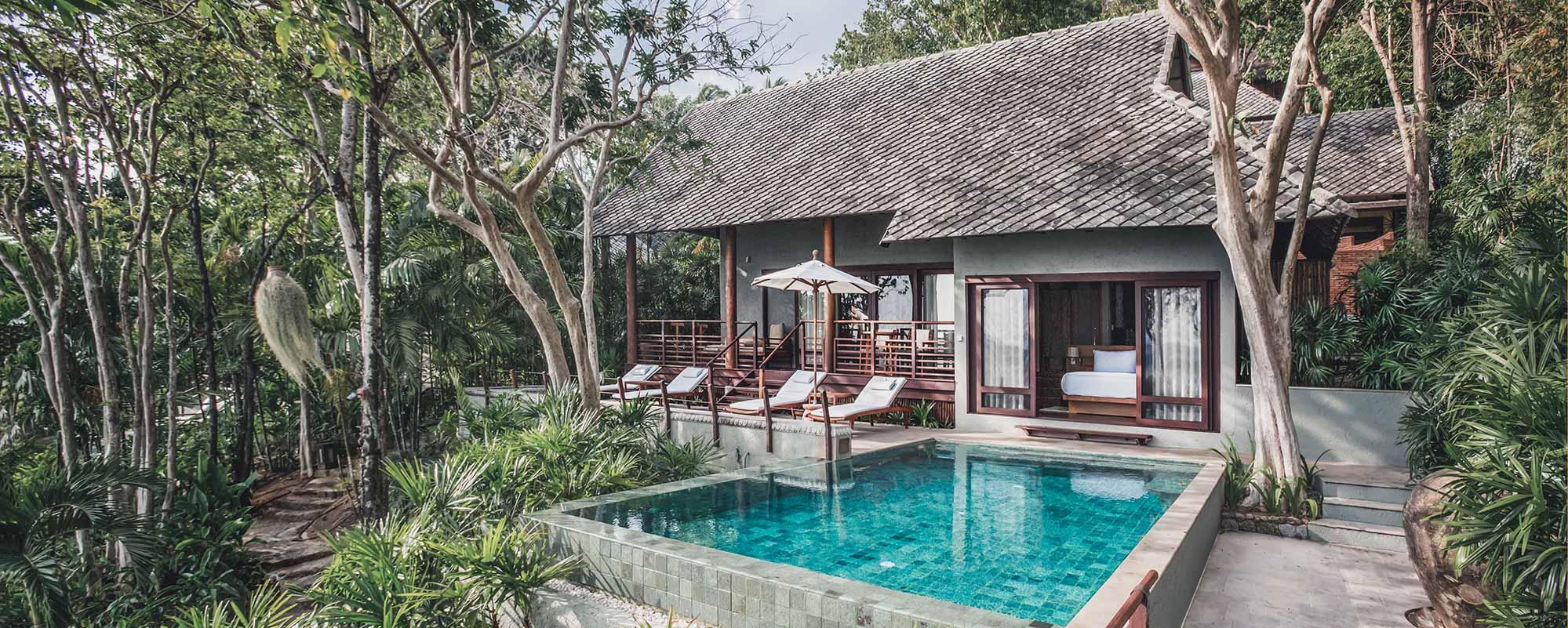 Rocktop Luxury Pool Villa Koh Samui Thailand