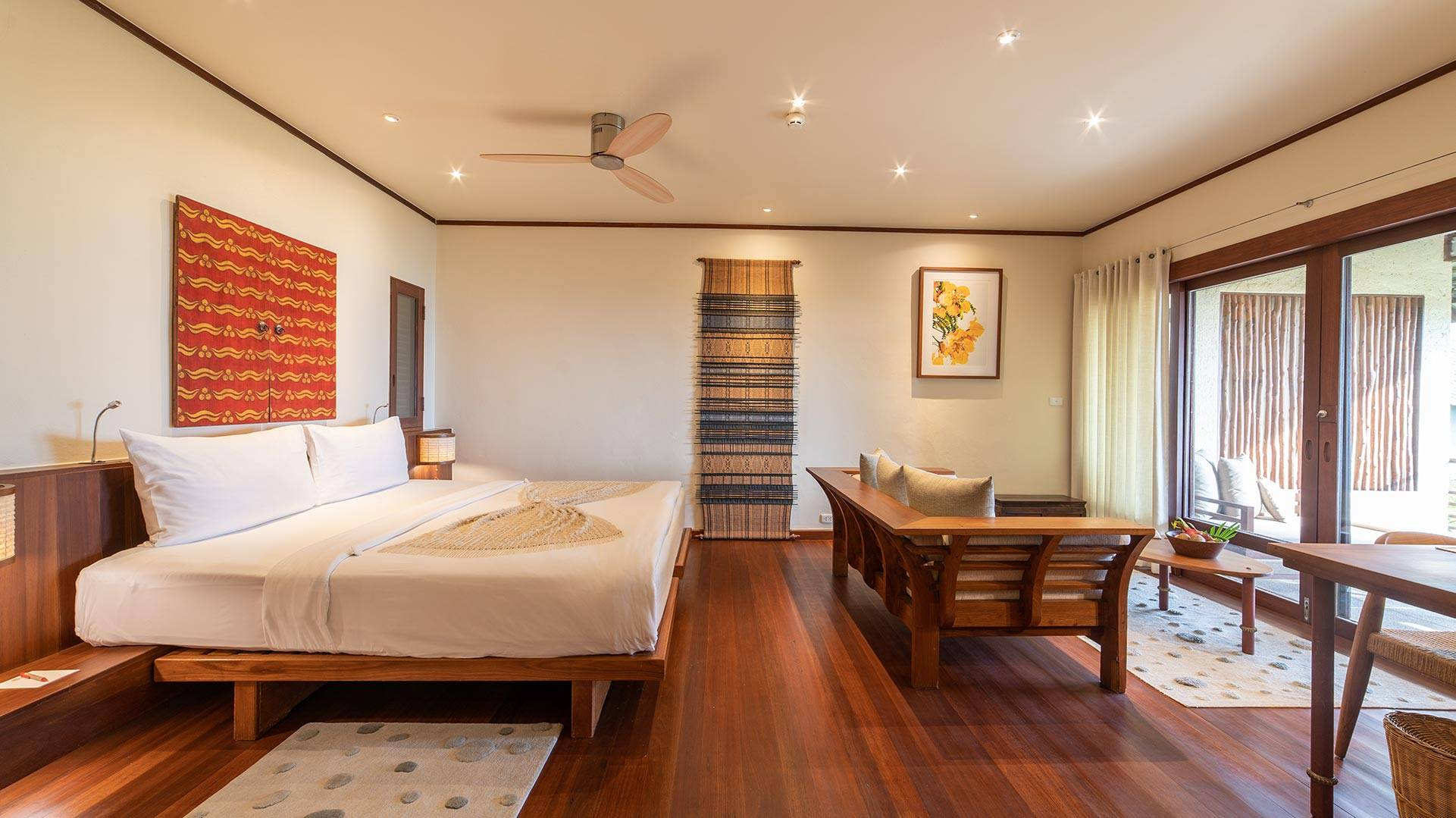 Deluxe Suite Sea View Accommodations in Koh Samui Thailand