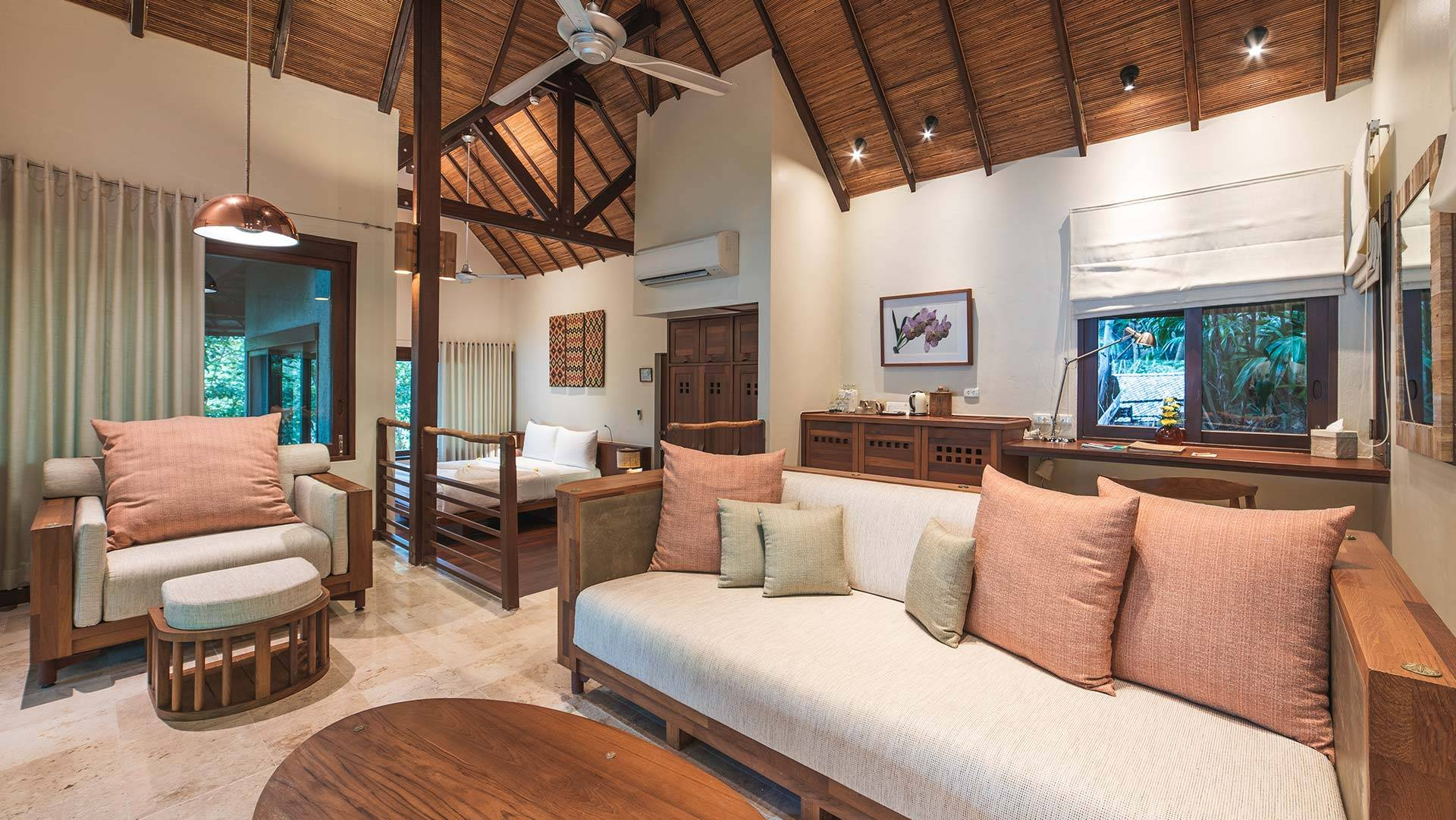 Delux Accommodations at Beach Spa Resort in Thailand