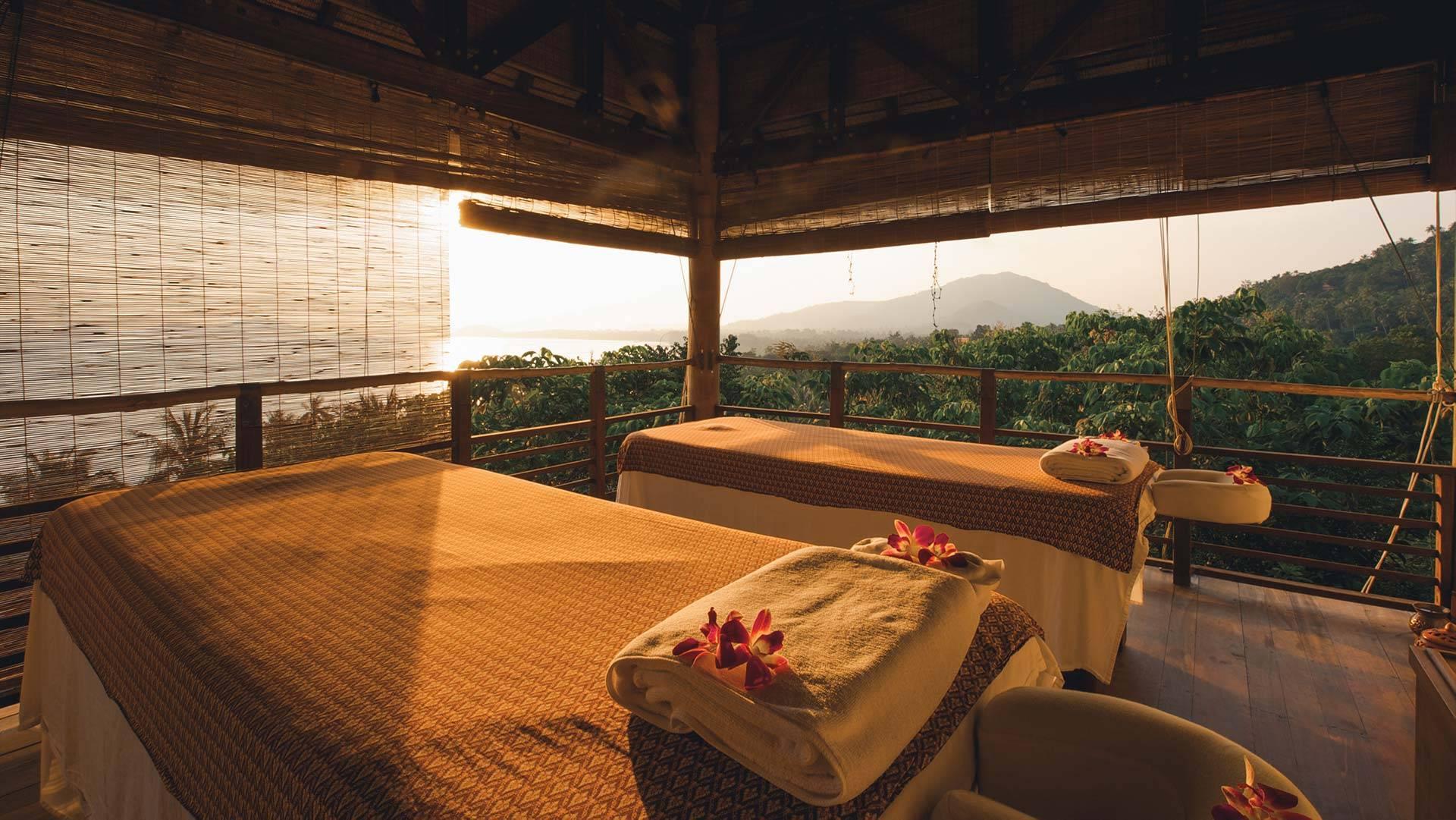 Treatment Area at Wellness Spa Resort Koh Samui
