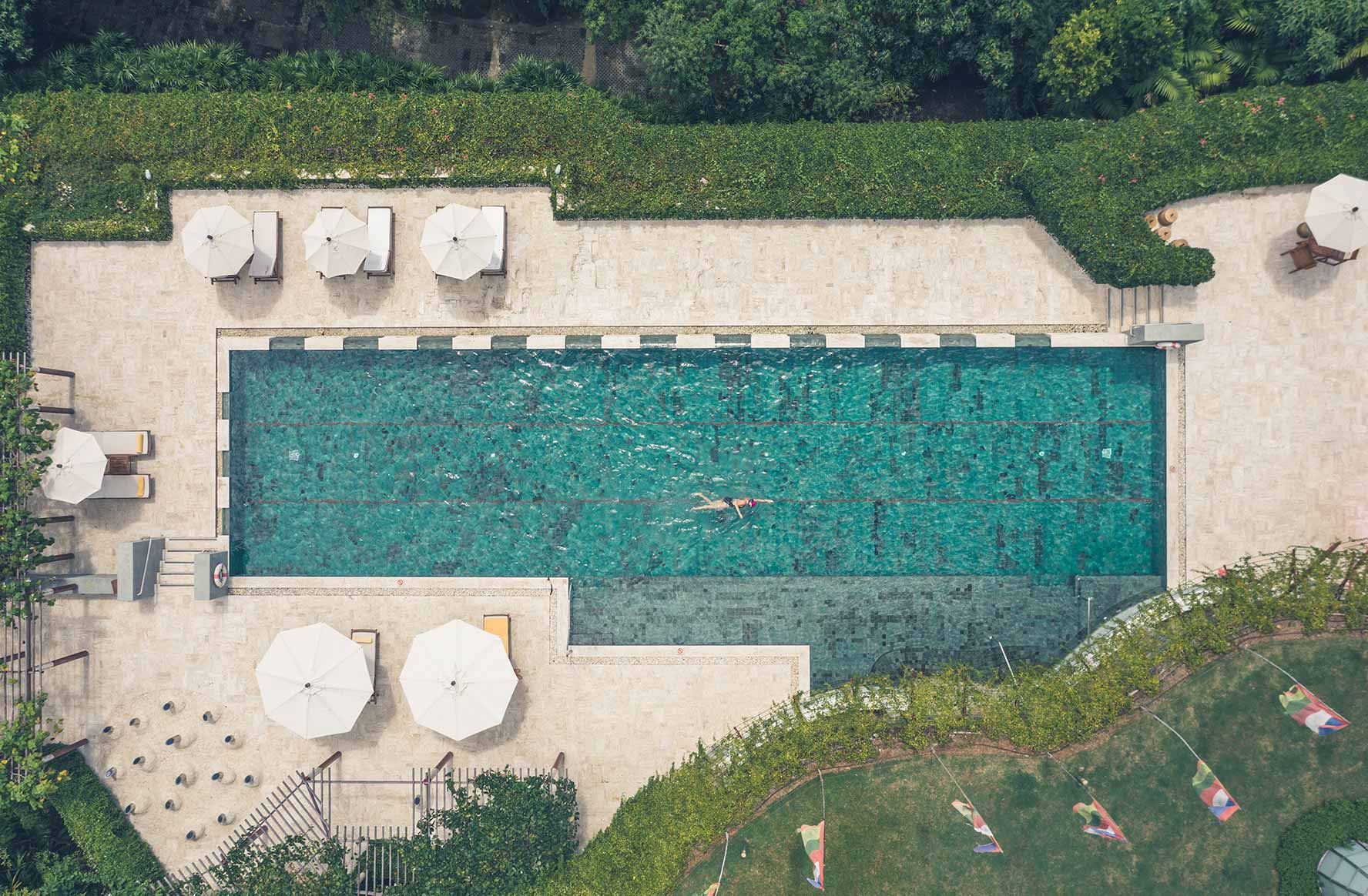 Lap Pool at Spa Beach Resort in Koh Samui Thailand