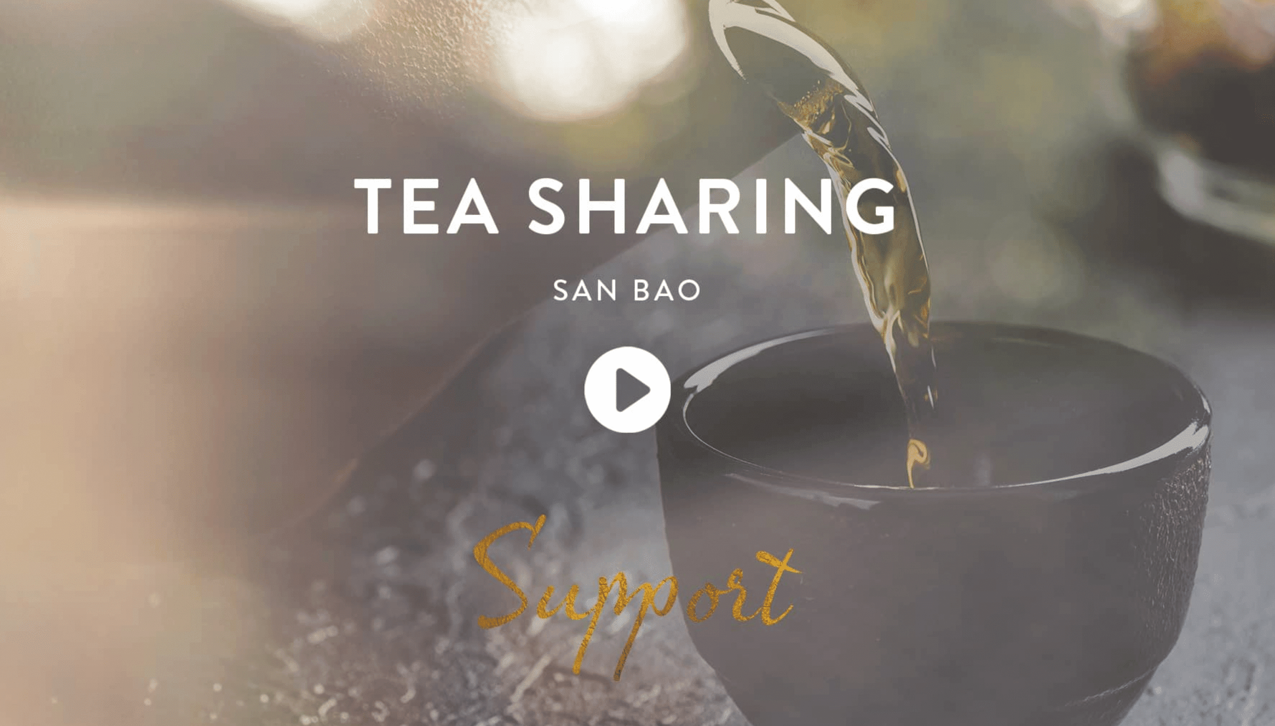 Chinese Tea Ceremony in Thailand Asia