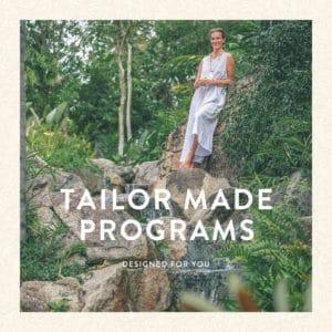 Tailor made Programs in koh Samui Thailand