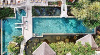 """Anyone looking for someone to test out Kamalaya's pool? I'm available.""   📷 by @one_world_different_views  #WellnessSanctuary #KamalayaKohSamui #AmritaCafe #LeisurePool #HolisticHealth"