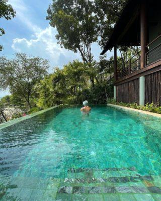 Relax & Release 📷 by @travelingwithstyle_  #rediscoversamui #SamuiPlus #KohSamui #Thailand #Kamalaya #PoolVilla #Rebalance #Relax #เกาะสมุย #retreat