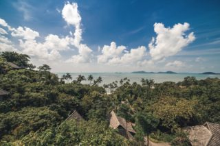Take a long breath, let go of stress, and get reacquainted with nature.  #naturehealing #rediscoversamui #wellbeing #beach #restore #reconnect #kohsamui