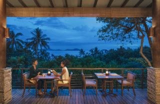 Every meal at Soma Restaurant is prepared with love and passion, so you can be restored and nourished by the goodness of our healthy cuisine. Enjoy an intimate dinner overlooking Kamalaya's valley with the best sunset views on the island.  #DiningOut #RediscoverSamui #foodstagram #KamalayaKohSamui #SamuiPlus