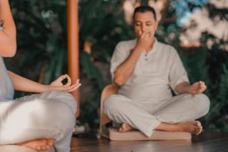 When life feels unbalanced, stress can walk right in.  If you are dealing with a lot of stress in your life, join us to learn how to stay calm without getting overwhelmed and find ways to dissolve emotional stress with our Life Enhancement Mentor, Sujay for a 60 minutes interactive workshop on Saturday, 25 September 2021 at 4:30 pm Bangkok time (GMT+7).  Link in Bio.  📸 @nonstop.journey  #KamalayaConnect #DigitalWellbeing #WellnessOnline #WellnessSanctuary #StressDissolution #StressManagement #Mentoring #Meditation