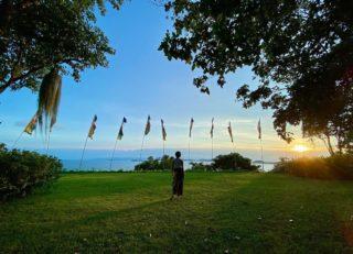 """It is not how much we have, but how much we enjoy, that makes happiness."" ― Charles Spurgeon  📸 Nicely captured by @bluebonnet_bkk  ขอบคุณที่แบ่งปันรูปภาพสวย ๆ ที่คามาลายา เกาะสมุยนะคะ 😍🙏❤️   #KamalayaKohSamui #WellnessSanctuary #YantraHall #Sunrise #Sunset #Nature #KohSamui #RediscoverSamui #SeeyousoonSamui #SamuiPlusSandbox #CharlesSpurgeon #Peaceful"
